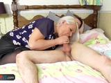 Old mature granny fat bbw chubby blonde blowjob and hardcore