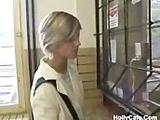 Europeans Having Public Fun Amateur Blonde Blowjob Couple Cum swallowing European