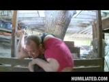 Watch Halie Cummings, our busty lady friend, is out in her barn flirting with the creepy farmer from next door. She starts showing off her ...