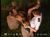 Charlie and Kevin take time out from their duties aboard a ship to have an outdoor fuck. Watch new-cummer Kevin fuck Charlie with his huge ...