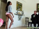 Black stepteen pussypounded by the piano and cant get enough