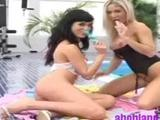 Spy those sexy lezzies Paulina and Dianna eat and rub one another's wet twats! One of them penetrates this fingering in her snug cooter at ...