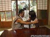 Haru Sakuragi Asian schoolgirl has sex 1 by JPschoolGirls