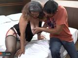 Compilation of old fat latina granny Rosaly and Brenda mature hardcore fucked