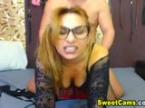 You should never missed this hot nerdy webcam babe as she gets pounded in her pussy from behind by her partner massive cock while she ...