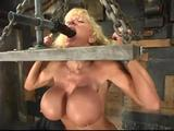 A shapely fitness model surrenders hard & pleases her dominant!